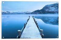 Ullswater Winter Jetty, Acrylic Print