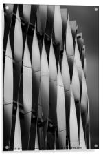 Abstract of Victoria Gate Shopping Centre Car Park, Acrylic Print