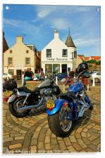 Harley Rally Anstruther, Acrylic Print