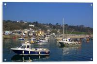 Lyme Regis Harbour from The Cobb, Acrylic Print