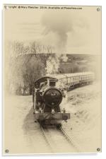 Steam Locomotive, Acrylic Print
