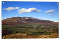 Blencathra from High Rigg, Acrylic Print