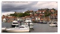 Whitby Harbour , Acrylic Print