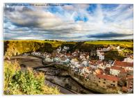 The Village of Staithes , Acrylic Print
