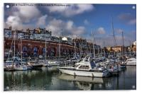 Beautiful Ramsgate Harbour, Acrylic Print