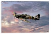 Hawker Hurricane - Evening Sortie, Acrylic Print