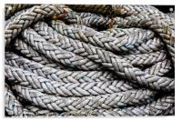 Coiled Rope, Acrylic Print