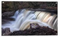 The diving board at Sgwd y Pannwr Waterfall, Acrylic Print