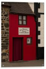 Smallest House In Great Britain, Acrylic Print
