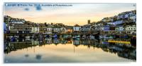 Brixham Harbourside., Acrylic Print