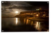 Moonlight over Whitby, Acrylic Print