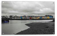 View of Galway Harbour, Ireland, Acrylic Print