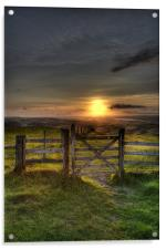 Gateway to the Sunset, Acrylic Print