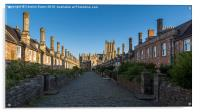 Vicar's Close, Wells Cathedral, Somerset, England, Acrylic Print