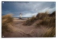 Talacre Lighthouse, Acrylic Print