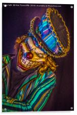 Bring in the clowns, Acrylic Print