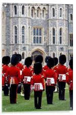 Welsh Guards Band 1, Acrylic Print