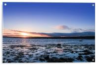 Sunset Across Mounts Bay, Acrylic Print