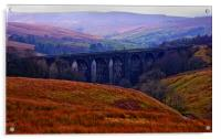 Denthead Viaduct. Yorkshire Dales, Acrylic Print
