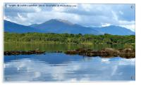The tranquil Loch Lommond, Acrylic Print