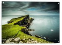 40 Seconds at Neist Point, Acrylic Print