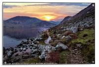 """Colourful Ennerdale"", Acrylic Print"