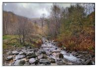 """Autumn mists in Thirlmere"", Acrylic Print"
