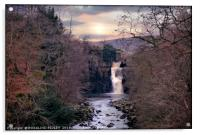 """Evening light at High Force"", Acrylic Print"