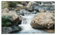 The Beauty of Water, Acrylic Print