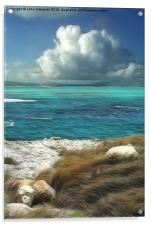 Nonsuch Bay, Antigua, Acrylic Print