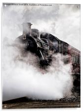 Lost in Steam, Acrylic Print