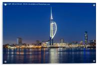 Portsmouth Harbour and The Spinnaker Tower, Acrylic Print