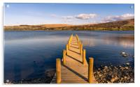 Jetty View at Ullswater - Reuploaded, Acrylic Print