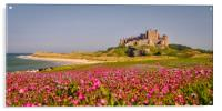 The Castle and the Campion, Acrylic Print