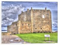 Blackness Castle HDR ( Fort William in Outlander ), Acrylic Print