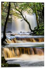 Summerhill Force, Bowlees, Teesdale, County Durham, Acrylic Print