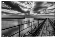 Blyth harbour entrance, Acrylic Print