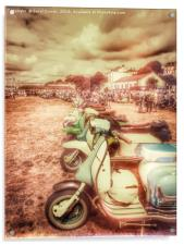 Exmouth National Scooter Rally 2016, Acrylic Print