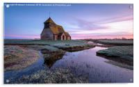 Fairfield Church, Acrylic Print