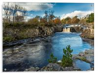 Autumnal Low Force, Acrylic Print