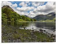 Scafell Over Wastwater, Acrylic Print