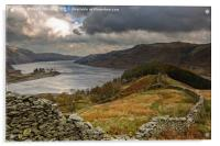 Autumnal Haweswater, Acrylic Print