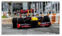 Red Bull Racing Car at Ignition Festival Glasgow, Acrylic Print
