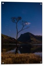 Buttermere by Starlight, Acrylic Print
