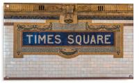 The Times Square sign on the NYC subway system , Acrylic Print
