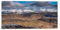 Looking North from Ben Lomond, Acrylic Print