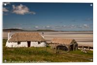North Uist: Stonehouse, Acrylic Print
