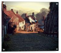 "Gold Hill     The ""Hovis"" Hill       , Acrylic Print"