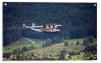 Flying In The Alps, Acrylic Print