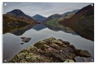 Wast Water Reflections, Acrylic Print